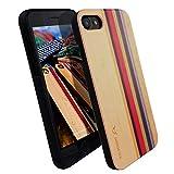 Iphone 7 coque bois - Ultra-mince ** Design Unique ** Couverture complète **...