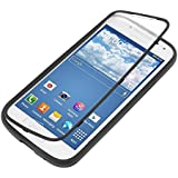 kwmobile TPU Silicone Full Body Protection Case for the Samsung Galaxy S4 Mini i9190 / i9195 in black transparent - Real all around protection for your Samsung Galaxy S4 Mini i9190 / i9195