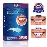 Foshine Bleaching Zähne White Strips Zahnaufhellung Zahnweiß 28pcs Teeth Whitening