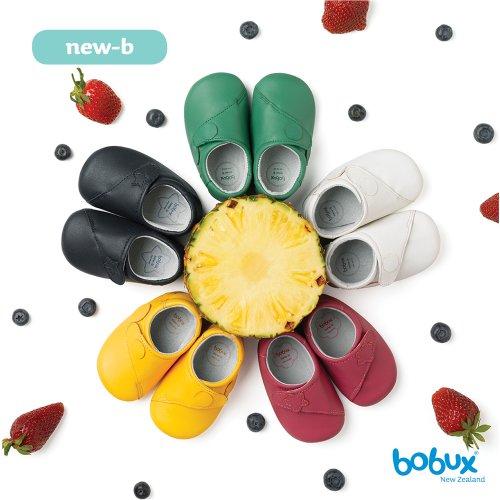 Bobux 460673, Chaussures souples mixte enfant Violet - Violett (raspberry)