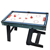 Winmax Deluxe 5 in 1 Multigame Klappbar Tischtennis Glatt Hockey Schach Pool Basketball Set - 3