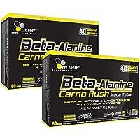 Olimp Beta-Alanin Carno Rush 160 Tabletten, 2er Pack á 80 Tabs. (2 x 142,4g) preisvergleich bei fajdalomcsillapitas.eu