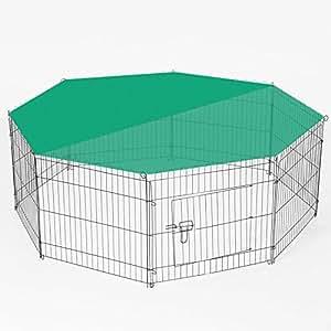 Aqpet recinto recinzione box per animali cani gatti for Recinto per cani amazon