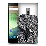 Head Case Designs Elefant Kunstvolle Tierwelt Ruckseite