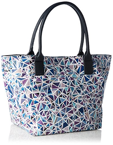 Tom Tailor - MIRI DIAMOND, Borsa shopper Donna Blu (blau 50)