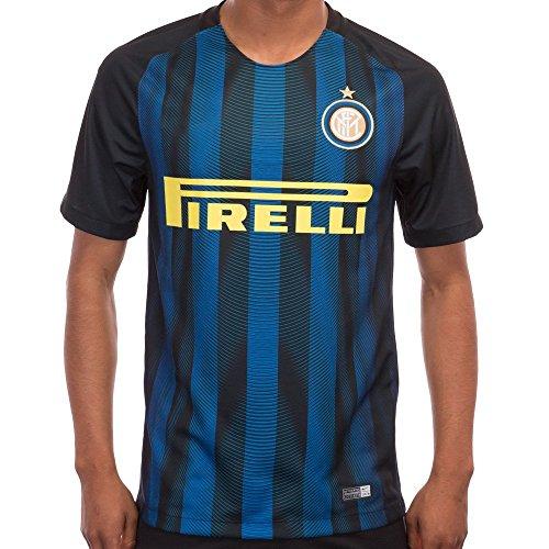 New Season Inter Mailand Mauro icardi Miranda Stevan jovetic Home Football Soccer Jersey in Blau Medium blau