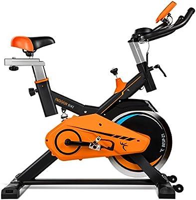 Bicicleta de spinning profesional 21kg inercia.CDW.Cuadro acero mate, calapies, sistema carenado silencioso, sistema VSS de amortiguacion