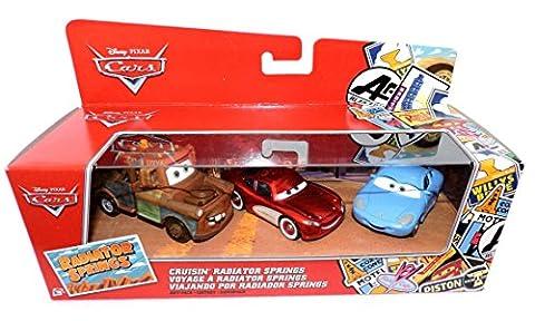 Disney Pixar Cars - Cruisin' Radiator Springs 3 Pack - Mater, Cruisin Lightning McQueen and Sally