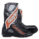 Daytona EVO SPORTS GTX Herren Racing Motorradstiefel Leder - schwarz rot Größe 47