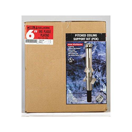 Selkirk Metalbestos Schr-gdach Ceiling Support Kit Stainless 6T-PCK - Selkirk Schornstein Metalbestos