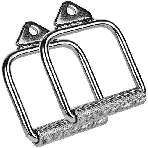 C.P. Sports Einhand-Griff, Vollstahl Doppelpack, 1 Paar (Griffe)