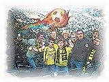 9 Borussia Dortmund Legenden als Kunstdruck -direkt vom