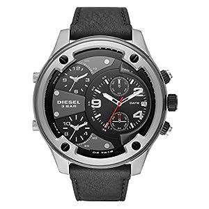 Diesel Reloj Cronógrafo para Hombre de Cuarzo con Correa en Piel DZ7415