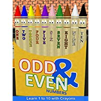 Odd & Even Numbers - Learn 1 to 10 with Crayons
