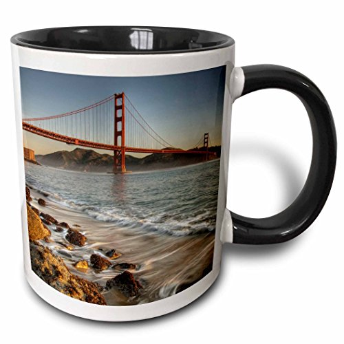 Mensuk California/San Francisco/Golden Gate Bridge - David Svilar, Magic Transforming Mug, 11-Oz