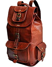 COOL BAG Genuine Leather Laptop Backpack Satchel NEW Laptop Bag Leather College Bag Leather Shool Bag 16 Inch