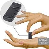 Mini Spia Registratore Vocale Digitale, Dittafono Audio Discreto, Memoria da 8 GB, Autonomia della Batteria di 20 ore, Funzionamento Semplice,Nessuna Luce o Suono Durante la Registrazione
