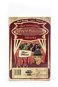 Axtschlag Heu – Garschale für Fleisch, Western Red Cedar, 300 x 200 x 40 mm