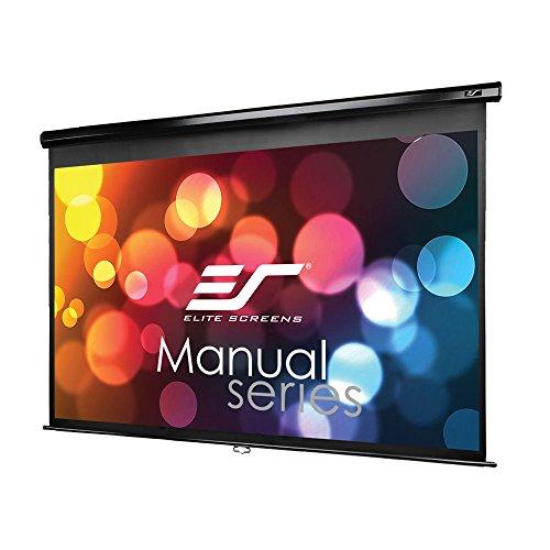 Elite Screens Manual M100UWH Rollo Leinwand 221,0cm x 124,5cm (BxH) 16:9 - Projektionsleinwände (Manuell, 2,54 m (100 Zoll), 2,21 m, 124,5 cm, 16:9) Elite Screens Manual