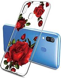 Oihxse Funda Samsung Galaxy S7, Ultra Delgado Transparente TPU Silicona Case Suave Claro Elegante Creativa Patrón Bumper Carcasa Anti-Arañazos Anti-Choque Protección Caso Cover (A7)