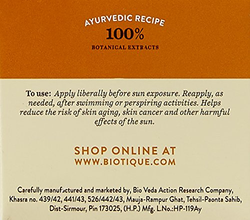 Biotique Bio Aloe Vera SPF 30+ Sunscreen Face Cream (50GM)