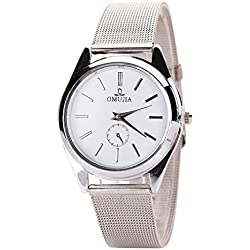 JACKY Fashion Luxury Stainless Steel Band Quartz Wrist Watches