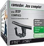 Rameder Attelage démontable avec Outil pour Jeep Compass + Faisceau 13 Broches...