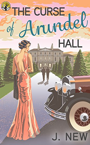 Book cover image for The Curse of Arundel Hall (The Yellow Cottage Vintage Mysteries Book 2)