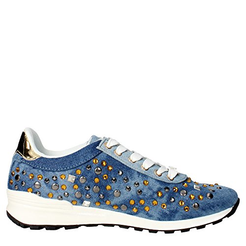 Laura Biagiotti 896 Sneakers Femme Jeans
