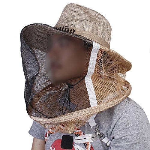 Camouflage Chapeau en Maille Anti Abeille Protection pour Apiculteur