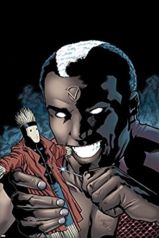 Gambit No.9 Cover: Brother Voodoo Poster By Georges Jeanty -