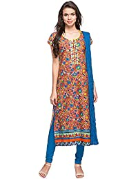 534e61f11b9 Stop by Shoppers Stop Womens Round Neck Printed Churidar Suit