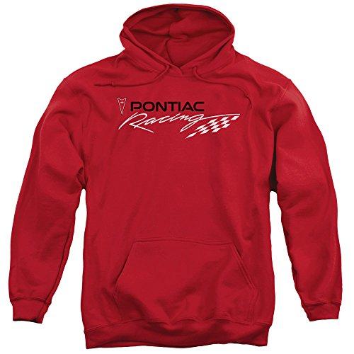 Pontiac -  Felpa con cappuccio  - Uomo Red