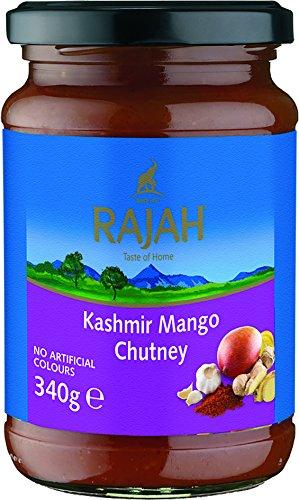 Rajah Kashmir Mango Chutney, 2er Pack (2 x 340 g)