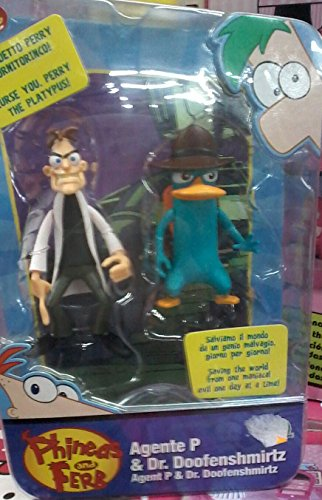 Phineas and Ferb Action Figure Set