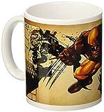 Semic Distribution smug032–Möbel und Dekoration–Tasse Wolverine Wolverine–Serie 1–braun