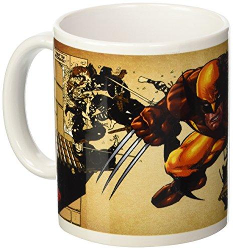 Distribución Semic - Smug032 - Muebles y Decoración - Taza Wolverine - Serie 1 - Marrón Wolverine