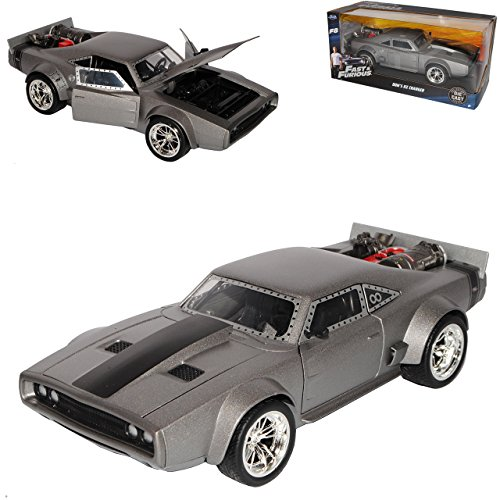 Jada Dodge Ice Charger R/T Dom´s The Fast and Furious 8 1/24 Modell Auto (Ice-modell)