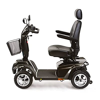 Drive ST5D Scooter Spirit Red Mobility Aid Shoprider 8mph 4 Wheels Boot Portable