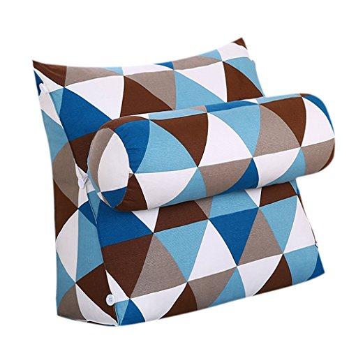 YMXLJFMode Kissen Dreieckige Nachtschutz Taille große Kissen Büro Wohnzimmer zurück Kissen Bett Kissen Sofa Soft Box Kissen Kissen (Farbe : J) -