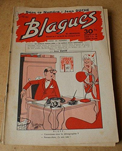 Blagues n° 83 - dans ce numéro Jean Duché