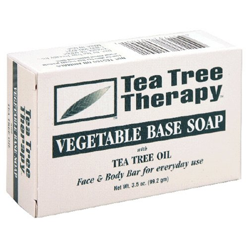 TEA TREE - Vegetable Based Soap - 3.5 oz. (99.2 g)