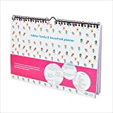 tiddler family & household planner | Weekly Family Organiser / Planner Calendar | Clever Layout in A4 Size | Space For 6 People & 1 Years Planning | Packed With Useful Features (Fairies Design)