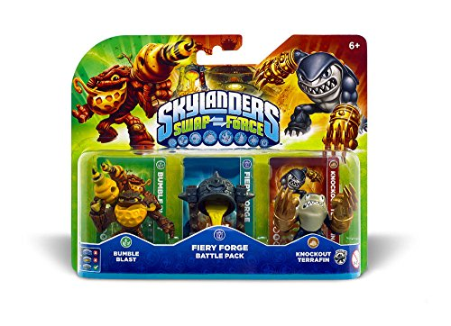 Skylanders Swap Force - Battle Pack (Bumble Blast, Terrafin, Caultron) - Skylanders Figuren Ps3