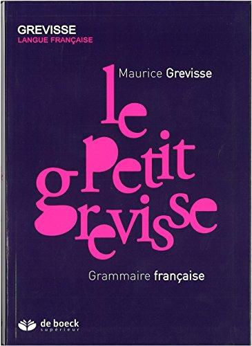 Le Petit Grevisse : Grammaire française