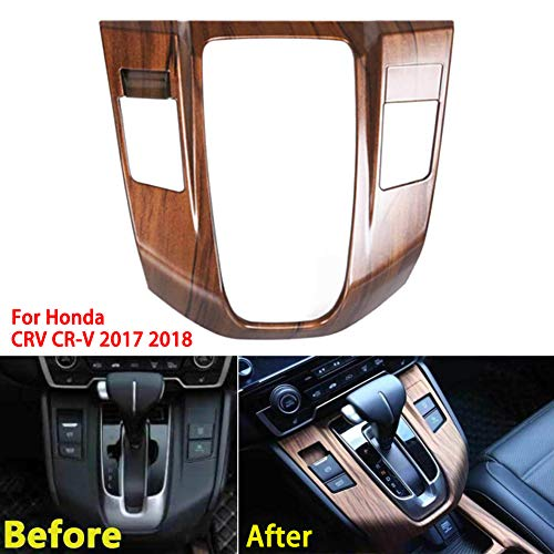 housesweet Innenaufkleber für Schalttafelverkleidung Konsolensteuerung Medienverkleidung Verkleidung für Honda CRV CR-V 17-2019