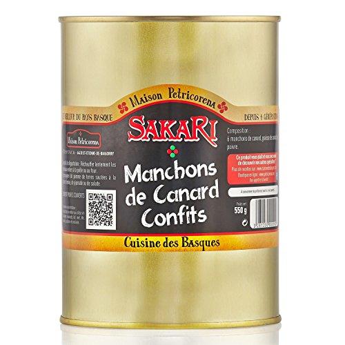 Sakari - Manchons De Canard Confits 550 G