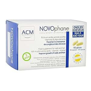 Novophane 180 capsules étui 3 mois