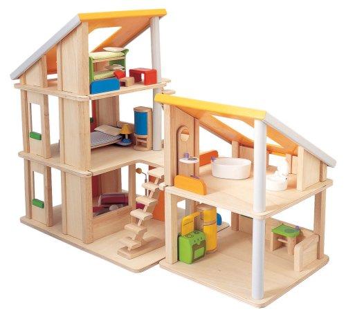 PLANTOYS 13571410 - Chalet Puppenhaus mit Möbeln - 2