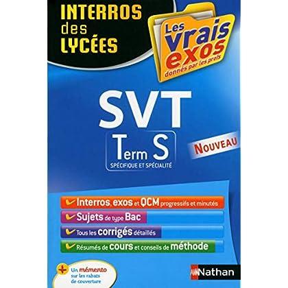 Interros des Lycées SVT Term S